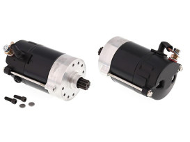 1.4kw Hitachi Starter Motor - Black. Fits Big Twin 1970-1988.