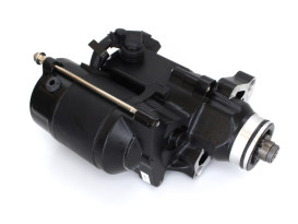 1.4kw Starter Motor - Black. Fits Softail 2007-2017, Dyna 2006-2017 & Touring 2007-2016.