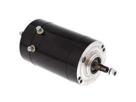 12 Volt Generator - Black. Fits as OEM replacement for Big Twins 1965-1969 & Sporsters 1965-1981.