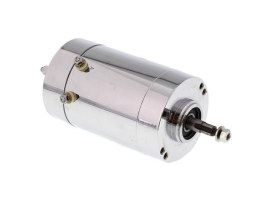12 Volt Generator - Chrome. Fits as OEM replacement for Big Twins 1965-1969 & Sporsters 1965-1981.