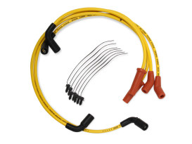 Spark Plug Wire Set - Yellow. Fits Touring 2017up.