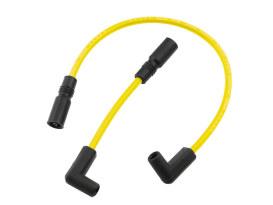 Spark Plug Wire Set - Yellow. Fits 4 Speed Big Twins 1965-1984.