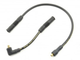 Spark Plug Wire Set - Black. Fits Sportster 1986-2003.