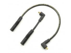Spark Plug Wire Set - Black. Fits Touring 1985-1998.