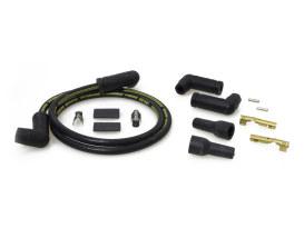 Spark Plug Wire Set - Black. Fits Universal or Custom Application