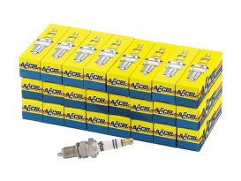 Spark Plugs; Twin Cam'00up & Sportster'86up, Platinum (Pack 24)