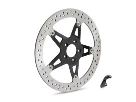 14in. Left Hand Front Big Brake Disc Rotor. Fits FXDR 2019up, Touring 2008-2013 & 2018up in.Specialin. Models with Hub Mounted Disc