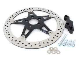 14in. Left Hand Front Big Brake Disc Rotor. Fits Touring 2000-2007 with 17in. or Larger Wheel.