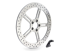 15in. Left Hand Front Big Brake Disc Rotor. Fits Softail 2000-2014 & Dyna 2000-2005