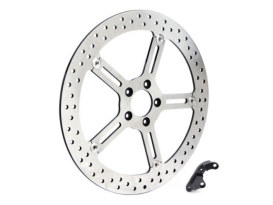 15in. Left Hand Front Big Brake Disc Rotor. Fits Sportster 2014up.