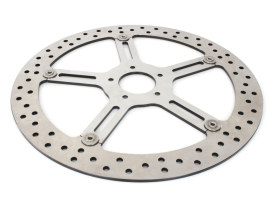 15in. Left Hand Front Big Brake Disc Rotor. Fits Softail Street Bob, Breakout & Low Rider 2018up.