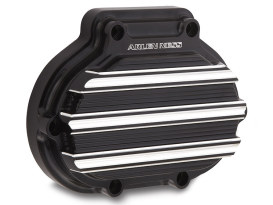 10-Gauge Clutch Release Cover - Black. Fits Big Twin 2007up with Clutch Cable.