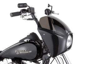 Direct Bolt-On Fairing Kit with Gloss Black Finish. Fits Dyna 2006-2017