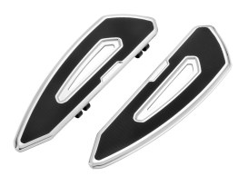Arlen Ness Speedliner Driver Floorboards Chrome Suits FLH 1982 Up and FLST 1986-2017 Models