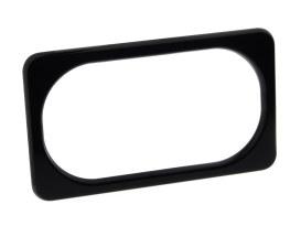 Number Plate Frame - Black.