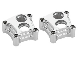 10-Gauge Tappet Block Covers. Twin Cam Models 1999-2017. Chrome Finish