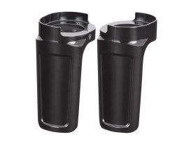 Method Fork Guard Covers - Black. Fits Touring 2014up.