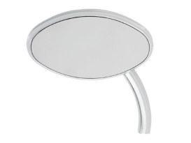 Curvaceous Mirror with Short Stem - Chrome. Fits Left.