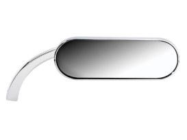 Mini Oval Mirror - Chrome. Fits Right.