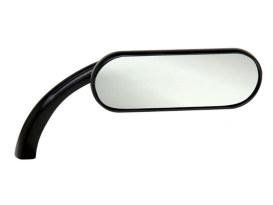 Mini Oval Mirror - Black. Fits Right.