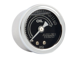 Replacement Oil Pressure Gauge. 1-1/2in. Gauge - Deep Cut.