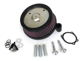 Stage 1 Big Sucker Air Cleaner Kit - Black. Fits Softail 2000-2014, Dyna 1999-2017 & Touring 2002-2007.
