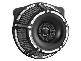Slot Track Air Filter Assembly with Black Finish. Fits M8 Touring 2017up & Softail 2018up Models.