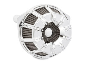 10-Gauge Air Filter Assembly with Chrome Finish. Fits Touring 2017up & Softail 2018up Models.