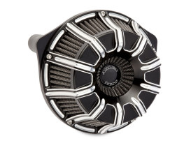 10-Gauge Air Filter Assembly with Contrast Cut Finish. Fits Touring 2017up & Softail 2018up Models.