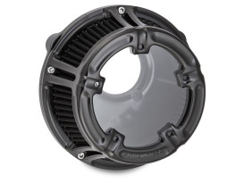 Method Air Cleaner Kit Black. Fits Big Twins 1999-2017 with CV Carb or Cable Operated Delphi EFI.