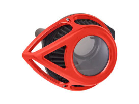 Tear Sucker Clear Air Cleaner Kit - Red. Fits Touring 2017up & Softail 2018up.