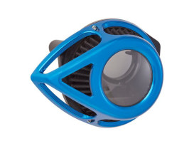 Tear Sucker Clear Air Cleaner Kit - Blue. Fits Touring 2017up & Softail 2018up.