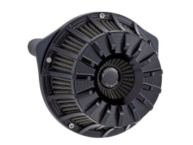 15-Spoke Air Filter Assembly with Black Finish. Fits Twin Cam Models 1999-2017 with CV Carburettor or Delphi EFI.