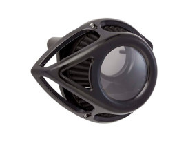 Tear Sucker Clear Air Cleaner Kit - Black. Fits Sportster 2007up.