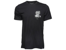 Arlen Ness Kicker Black T-Shirt. Medium