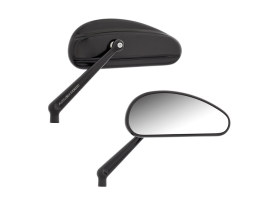 DownDraft Mirrors - Black. Left and Right Set.
