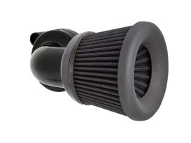 Velocity 90° Air Cleaner Kit - Black. Fits Sportster 1988up.