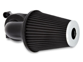 90deg Monster Sucker Air Cleaner Kit - Black. Fits Twin Cam 2008-2017 with Throttle-by-Wire.
