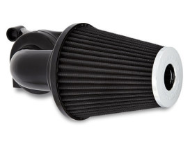 90deg Monster Sucker Air Cleaner Kit - Black. Fits Sportster 1991up.