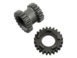 1st Gear Set; Big Twin'59-86 4 Speed (2.44 Ratio 1st Gear)