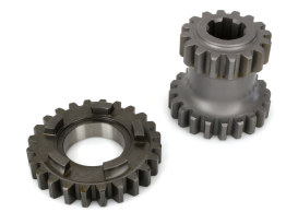 1st Gear Set; Big Twin'59-86 4 Speed (2.60 Ratio 1st Gear)