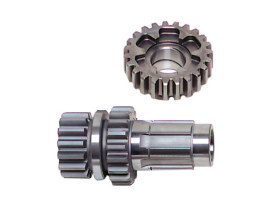 3rd Gear Set; Big Twin Mid'76-86 4 Speed with Caged Needle Bearings (1.35 Close Ratio)