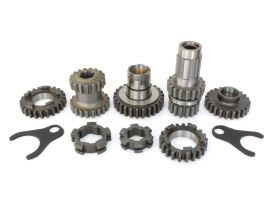 Gear Kit; Big Twin'77-86 (1st 2.44 Ratio, 3rd 1.35 Ratio)