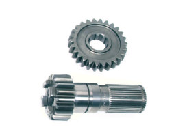 Main Drive Gear Set; Sportster Mid'84-90 4 Speed (C Ratio)