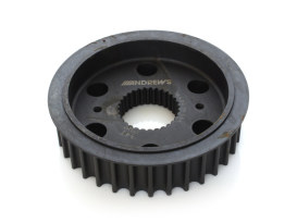 34 Tooth Transmission Pulley. Fits Milwaukee-Eight 2017up.