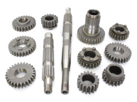 Gear Kit; Big Twin'85-89 5 Speed with Belt Drive (1st gear ratio 2.94)