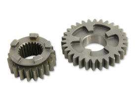 1st Gear Set; Sportster'91up 5 Speed (2.61 Close Ratio Mainshaft & Countershaft)