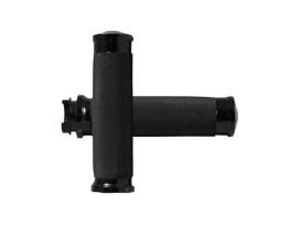 Custom Contour Handgrips - Black. Fits Various Metric Models.