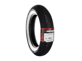 Avon Cobra Chrome 16in. Whitewall Front Tyre. 150/80-R16 AV91.