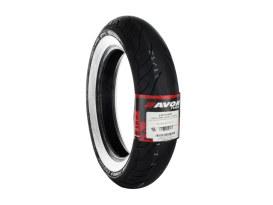 Avon Cobra Chrome 16in. Whitewall Front Tyre. 150/80-R16 AV91.